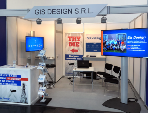 GIS DESIGN at the Inter Airport Europe 2019 in Munich
